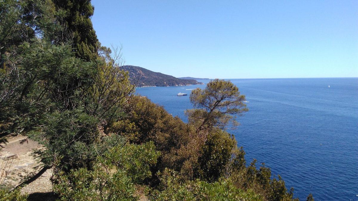 Terrasse vers Saint Tropez